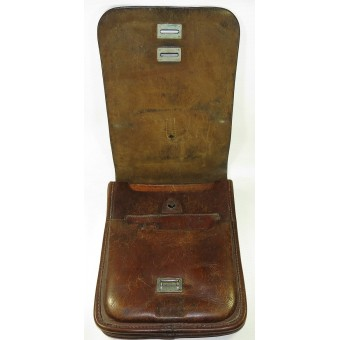 WW2 officer leather mapcase, RKKA. Espenlaub militaria