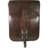 WW2 officer leather mapcase, RKKA