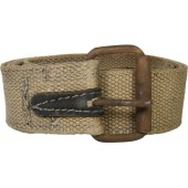 WW2 Russian soldier's canvas belt. M41
