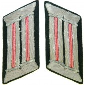 Feldbluse officer collar tabs for Wehrmacht  Panzergrenadier and Tankmen.