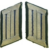Early Wehrmacht collar tabs for medical personal