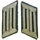 Wehrmacht sapper units collar tabs for officer.