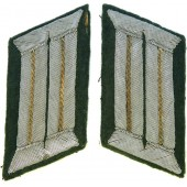 Wehrmacht Heer Infantry officer's collar tabs.