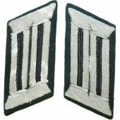 Wehrmacht Heer Pionier/Engineer officer's collar tabs