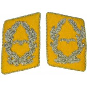 WWII Luftwaffe major tabs, yellow is for flying personal