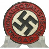 Buttonhole variant M 1/42 RZM NSDAP Member badge, late war