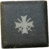 Case for KVK1 with swords- Kriegsverdienstkreuz