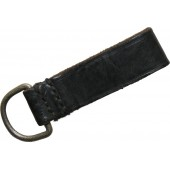 Black leather SS/NSKK daggers belt loop