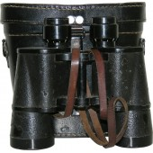 German Kriegsmarine binocular D.F. 7 x50, Carl Zeiss Jena with case.