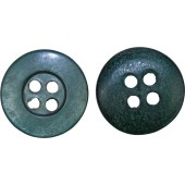 14 mm poison green 3rd Reich Polizei uniform bone button