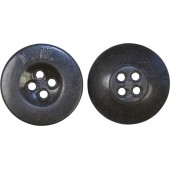 Luftwaffe 18 mm button for uniforms and equipment. L.W marked