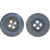 Zinc made late war 23 mm button for tank wraps