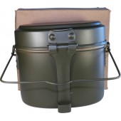 Late war issue M44 simplified mess kit in mint condition in original factory package
