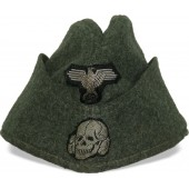 M 40 Waffen SS side hat by G Teufel. Tuttlingen.