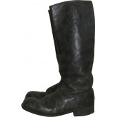 Imperial Russian long leather boots