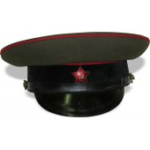 "M35 post-war German made armored visor hat with logo  ""Record"""