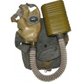 RKKA gas mask BN- MT4, rare variant with early war modified mask MOD-08