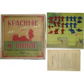 "Soviet Russia table military tactical game ""Reds and Blues"", year of issue 1941"