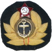Soviet WW2 navy command personnel wreath- cockade