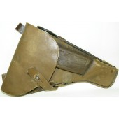 TT-34 Soviet beige flat leather holster
