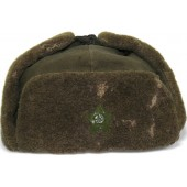 WW2 M 40 Soviet winter hat - Ushanka