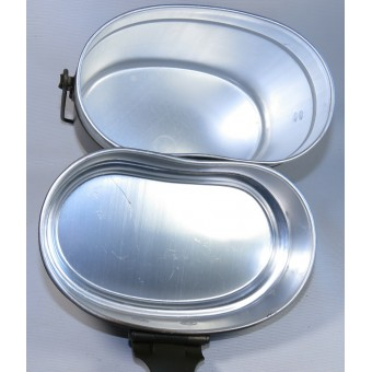 Late war issue M44 simplified mess kit in mint condition in original factory package. Espenlaub militaria