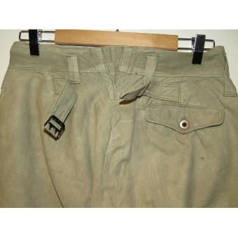 M 35 RKKA breeches for Enlisted personnel with knee reinforcements. Espenlaub militaria