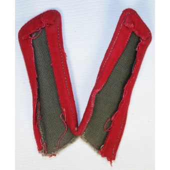 M43 field collar tabs artillery or armored personnel of RKKA for overcoat. Espenlaub militaria