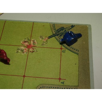 Soviet Russia table military tactical game Reds and Blues, year of issue 1941. Espenlaub militaria