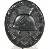 Black class of wound badge, 1939. Mint.