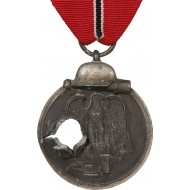 Medal for the 1941-42 campaign on the Eastern Front with battle damage