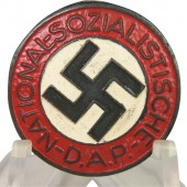 NSDAP M 1/92 RZM. NSDAP member badge. Made by Carl Wild