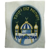 3rd Reich Foreign Volunteer Arm Shield for the Turkistan Legion