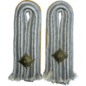 A pair of sewn-shoulder boards  Luftwaffe-Oberleutenant flight or paratrooper