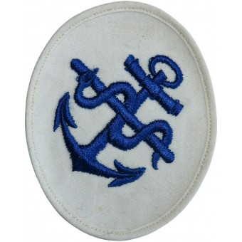 Kriegsmarine Medical NCO's career/trade patch for summer white uniforms