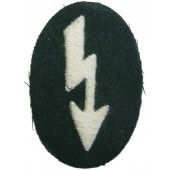 Wehrmacht's signals sleeve patch in the infantry unit