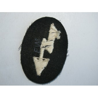 Wehrmachts signals sleeve patch in the infantry unit. Espenlaub militaria