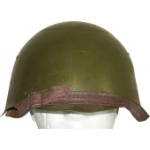 Soviet WW2  helmet ssh-39. Made in blockaded Leningrad. Rare.