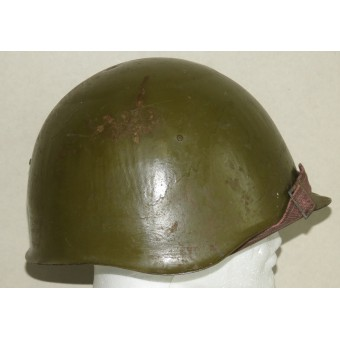Soviet WW2  helmet ssh-39. Made in blockaded Leningrad. Rare.. Espenlaub militaria