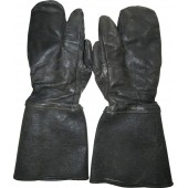 Leather gloves, winter,  Red Army armored troops
