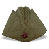 M1935 Pilotka sidecap  for the lower ranks in Red Army.