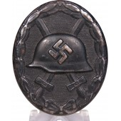 1939 Wound badge in black. Steel