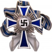 3rd Reich Mother's cross. Silver class