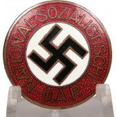 "An early badge of the Nazi Party, before 1934, ""25"" - Rudolf Reiling"