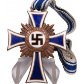 German Mother's Cross, A. Hitler, December 16, 1938. Bronze grade