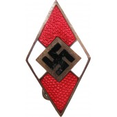 Hitler Youth Member badge Otto Hoffmann. Early