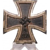 Iron Cross 1st Class 1939 B. H. Mayer's Kunstprägeanstalt