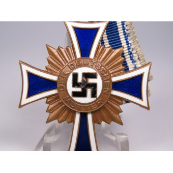 Mothers cross from the period of the 3rd Reich. Bronze. Espenlaub militaria