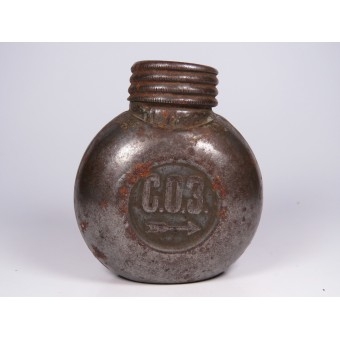 Oiler tin for weapons of the Russian Imperial Army. Espenlaub militaria