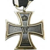 Imperial German Iron Cross 2/ Eisernes Kreuz II class.  A.G.